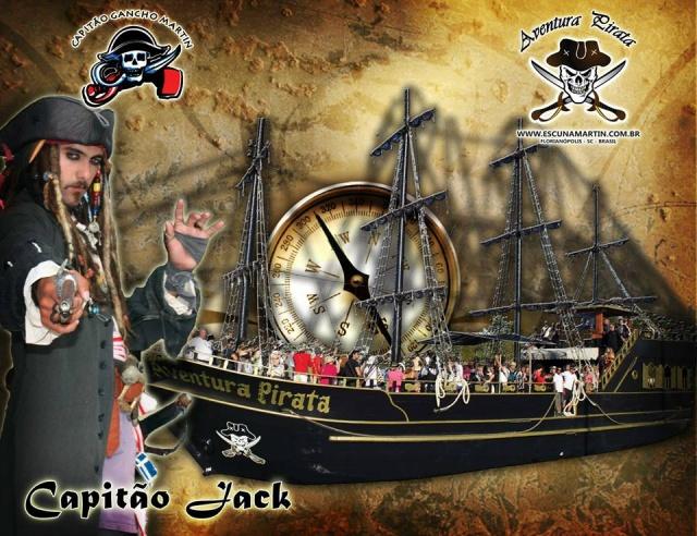 Passeio de Scuna Pirata